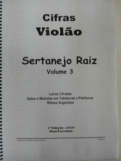 Cifras Sertanejo Raiz Vol. 3 Cifras Tablaturas Partituras