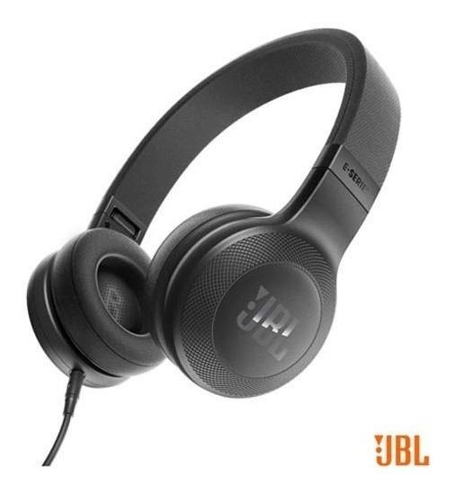 Fone De Ouvido Jbl Headphone Preto Jbl E35