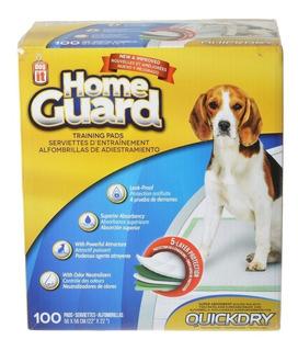 Paños Sanitarios De Entrenamiento Dog It Home Guard 100un T#