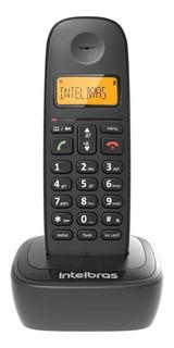 Telefone sem fio Intelbras TS 2510 preto