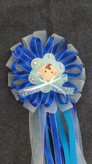 Corsage O Distintivo Para Mamá Baby Shower, Porcelana Fría