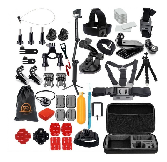 Kit Acessorios Gopro 7 Black Completo Go Pro Hero 6 5 3 Way