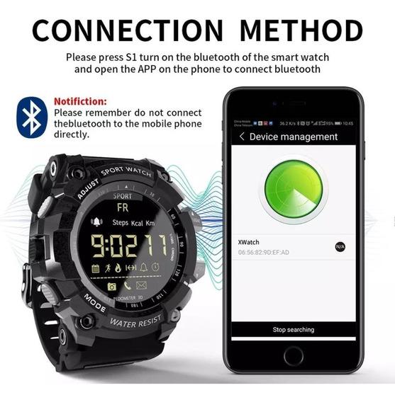 Relógio Multifunções Lokmat Ex16 Militar Esporte Preto