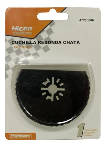Imagen 1 de 4 de Cuchilla Chata Para Amoladora Multifuncion Hicen H Y T
