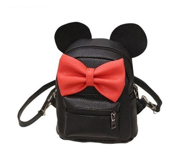 Bolsa Mickey Minnie Disney Feminina Em Couro