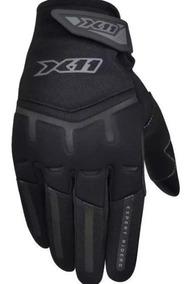Luva X11 Fit Motociclista Masculina E Feminina Proteção X11