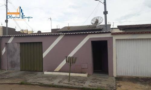 Casa Com 3 Dormitórios À Venda, 126 M² Por R$ 250.000,00 - Jk Parque Industrial Nova Capital - Anápolis/go - Ca1432