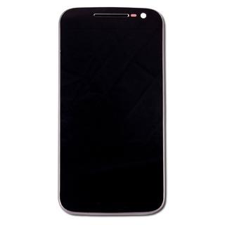 Modulo Moto G4 Motorola Pantalla Display Con Marco Xt1621 Xt1625 Tactil Touch