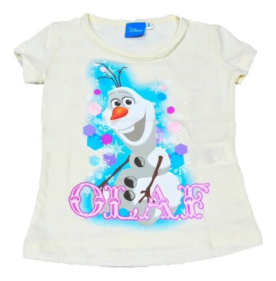 Blusa Para Niña De Olaf Frozen Beige-prqi9e4