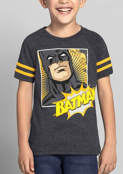 Playera De Niño Justice League ® Batman Negro 73781