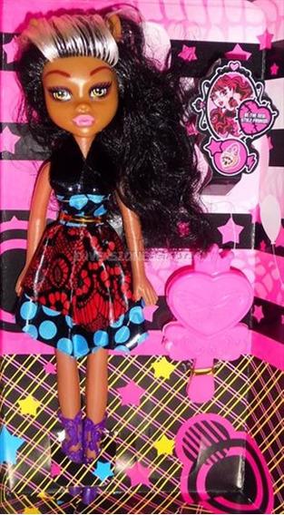 Muñeca Monster High Accesorio Y Vestido Juguete Niñas Barbie