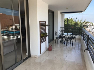 Apartamento Amueblado En Renta Los Jardines Santiago.