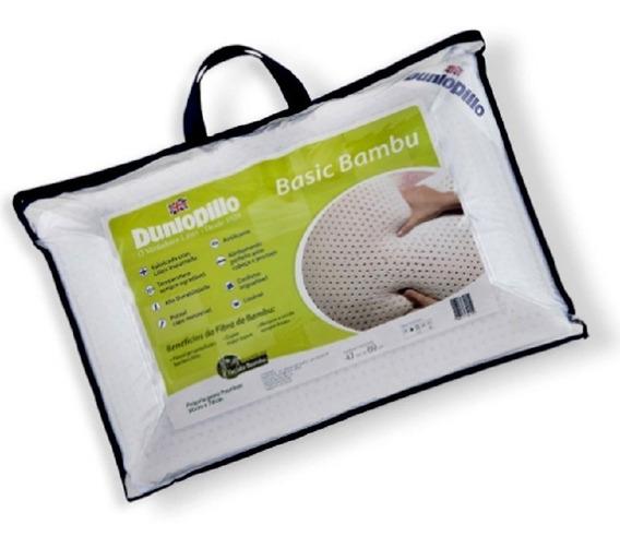 Travesseiro Látex Basic Bambu Dunlopillo Copespuma Theva