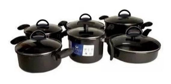 Jogo De Panelas Ceramica 6 Pecas Fogao Inducao Cooktop Lenha
