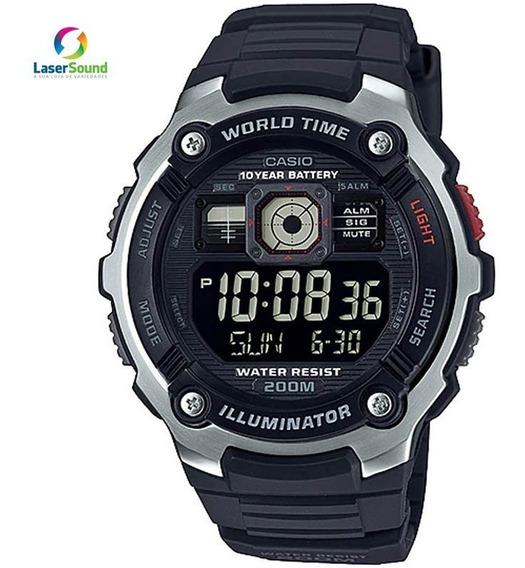 Relógio Casio Masculino Ae-2000w-1bvdf