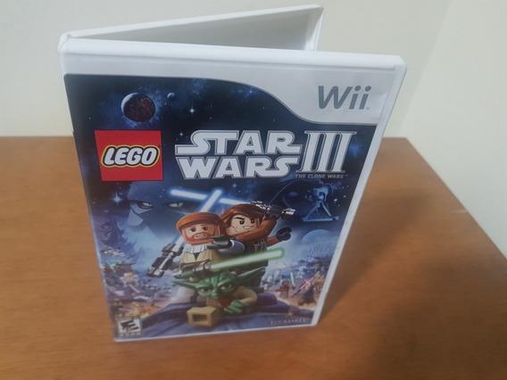 Lego Star Wars Clone Wars Usado Usa Nintendo Wii Mídia Físi.