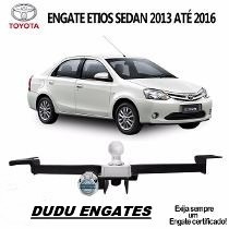 Engate Reboque Toyota Etios Sedan 2013 2014 2015 2016 500 Kg