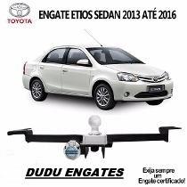 Engate Reboque Toyota Etios Sedan 2013 2014 2015 2016 500 Kg