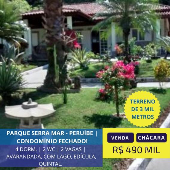 Chácara Condomínio Fechado Em Peruíbe | 245 Mil De Entrada