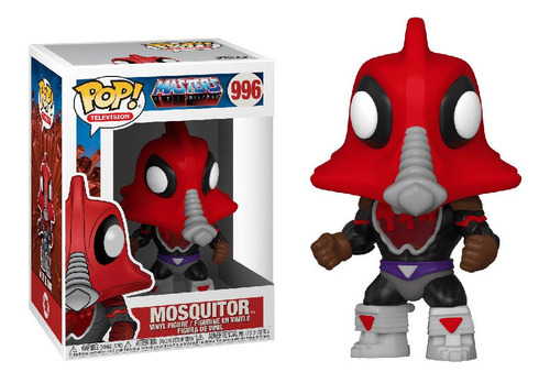 Funko Pop Mosquitor Moskitor Máster Of Universe Dreddstore