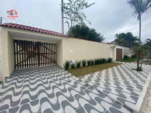 Imagem 1 de 16 de Casa Com 4 Dormitórios À Venda, 183 M² Por R$ 550.000,00 - Flórida Mirim - Mongaguá/sp - Ca5367