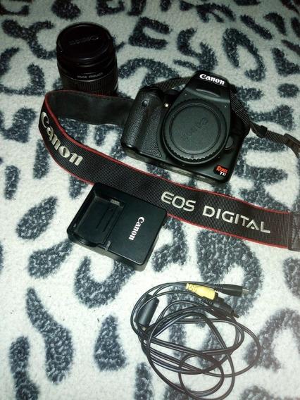 Câmera Canon T1i + Lente Original + Alça Original .