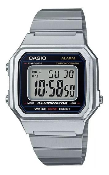 Relógio Casio Preto Gold B650wd-1adf Feminino Aço Digital
