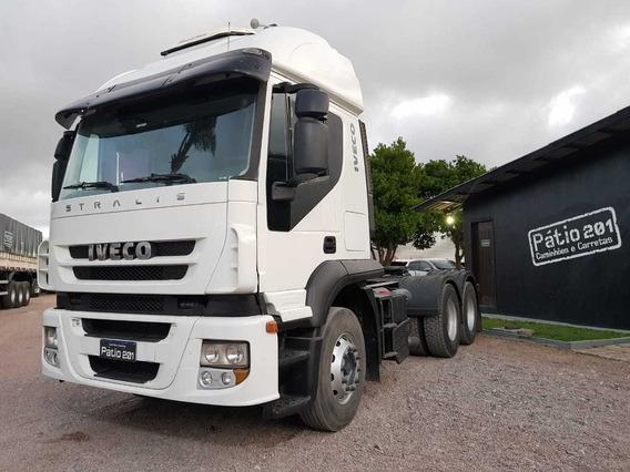 Caminhão Iveco Strallis 380 Trucado 6x2