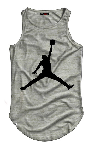 Camiseta Regata Longline Michael Jordan Baskete
