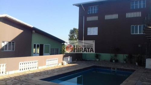 Chácara Com 2 Dormitórios À Venda, 1250 M² Por R$ 850.000 - Cidade Satélite Íris - Campinas/sp - Ch0072