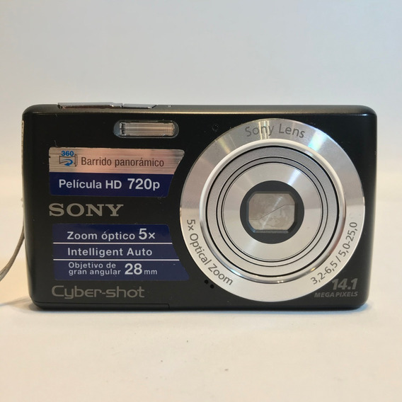 Câmera Sony Cyber-shot Dsc-w620 14.1 Mega Pixels Hd 720p