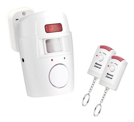 Alarme Residencial Sem Fio Sensor De Presenca E Sirene