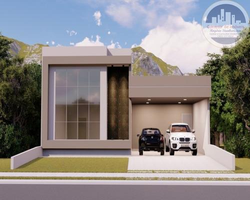 Casa Condominio Portal Dos Ipês Em Indaiatuba Sendo 3 Suites - Ca00036 - 67648065