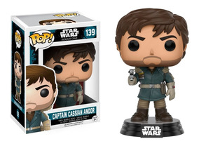 Funko Pop! Star Wars Rogue One - Captain Cassian Andor #139