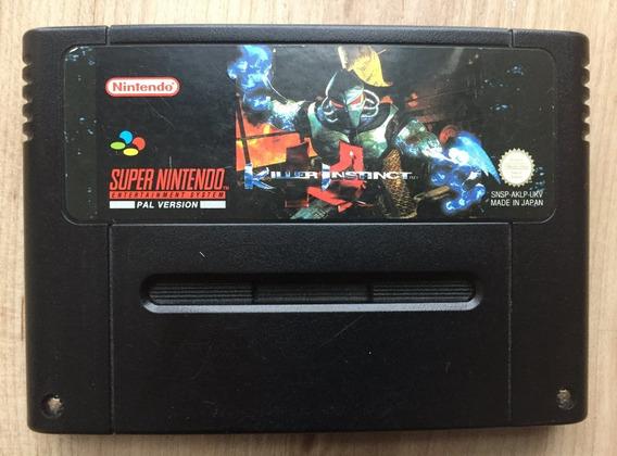 Killer Instinct Fita Snes Nintendo 100% Original