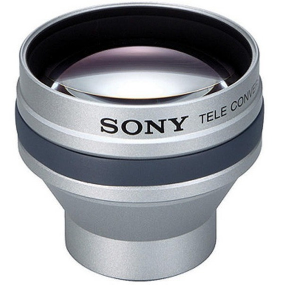 Lente Teleobjetiva Sony Vcl-hg2025 De Conversão 2x Sony
