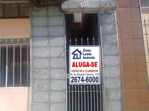 Alugue Sem Fiador, Sem Depósito - Consulte Nossos Corretores -casa Com 1 Dormitório Para Alugar, 50 M² Por R$ 650/mês - Vila Formosa - São Paulo/sp - Ca1432