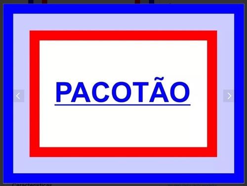 Pacotão 20 Painéis Redondos 1,30 X 1,30 Cada,temas Variados