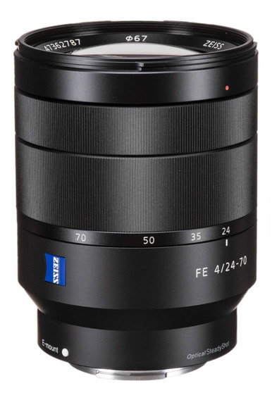 Lente Sony T 24-70mm F4 Za Oss Vario Tessar Nova Na Caixa