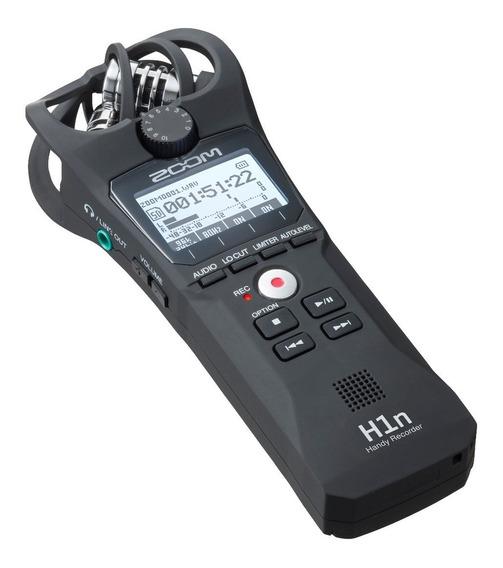Gravador Digital Zoom H1n Profissional Stereo, Lançamento.
