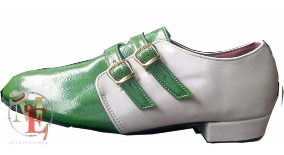Sapato De Malandro E De Samba , Bicolor De Fivela