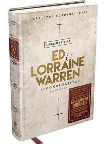 Livro Ed & Lorraine Warren: Demonologistas - Darkside