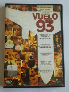 Vuelo 93 - Dvd Original - Los Germanes