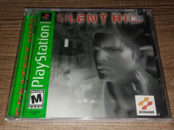 Silent Hill Greatest Hits Playstation Ntsc-u Lacrado!