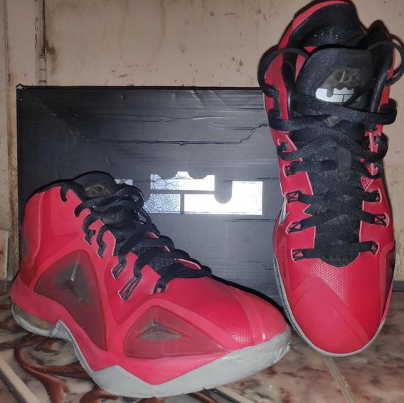 Tênis Nike Ambassador Vii Red/ Mtllc Slvr-blk N° 9,5