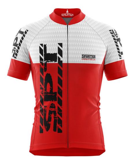 Camisa Ciclista Spartan Mtb Uv 50+ Ref 13 New Dry Fit