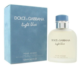 Perfume Light Blue Men 125ml D&g Original Afip Envio Hoy
