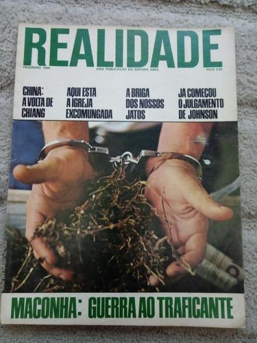 Revista Realidade Nº 35 -de 1969 . Politica Prop. Sumario