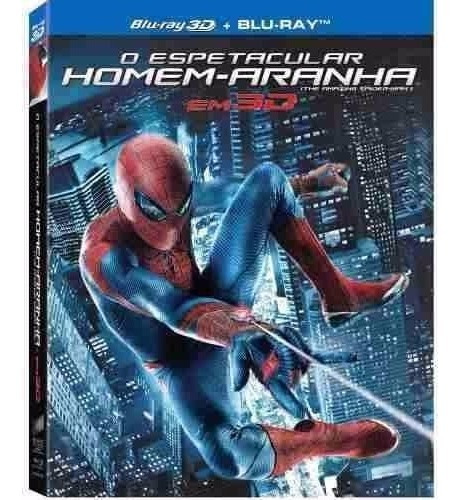 Blu-ray O Espetacular Homem-aranha 3d + 2d (lacrado)