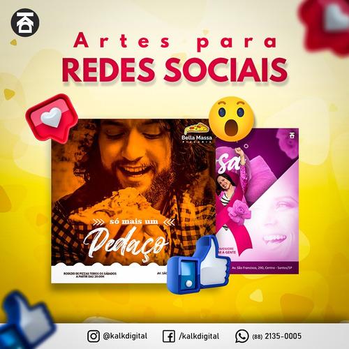 Artes Para Redes Sociais (pacote 3 Artes)